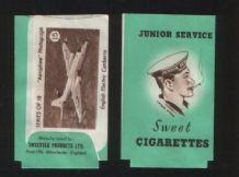 Collectible Sweet cigarette packet,  #062